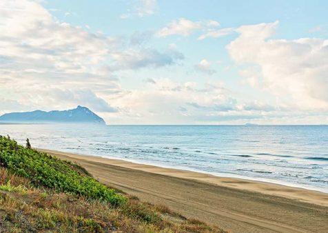 The Lazio coast