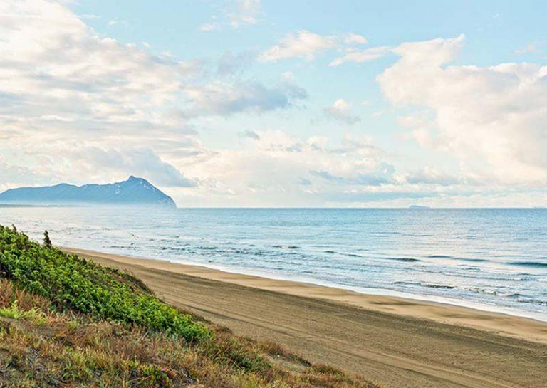 La costa laziale