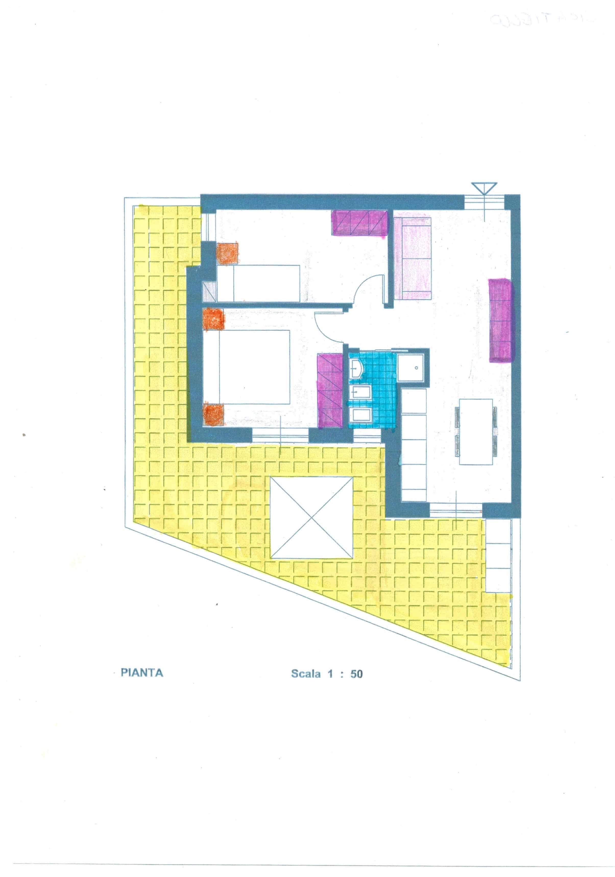 Gaeta appartamento nuova costruzione tra il centro e Serapo