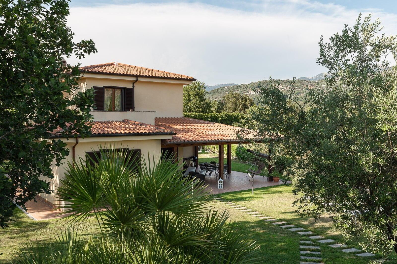 Villa Cita immersa nel verde